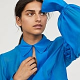 H&M Balloon-Sleeved Blouse