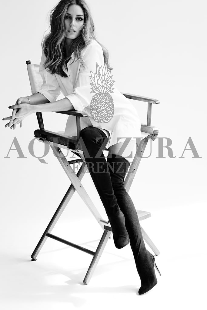 Olivia Palermo Launches Shoe Collaboration With Aquazzura