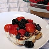 Mixed Fruit Tiramisu