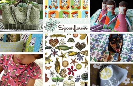 Nice and New: Spoonflower Custom Fabrics