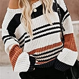 Zesica Striped Sweater