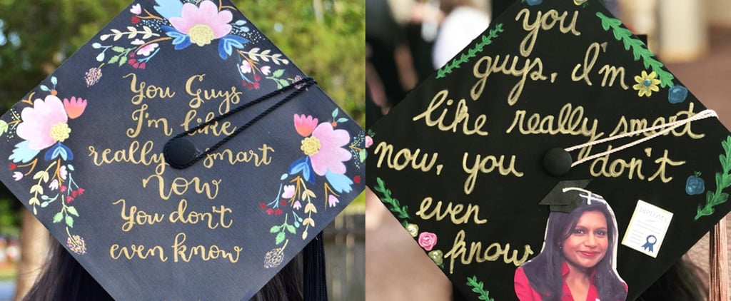 Office-Themed Graduation Caps 2018