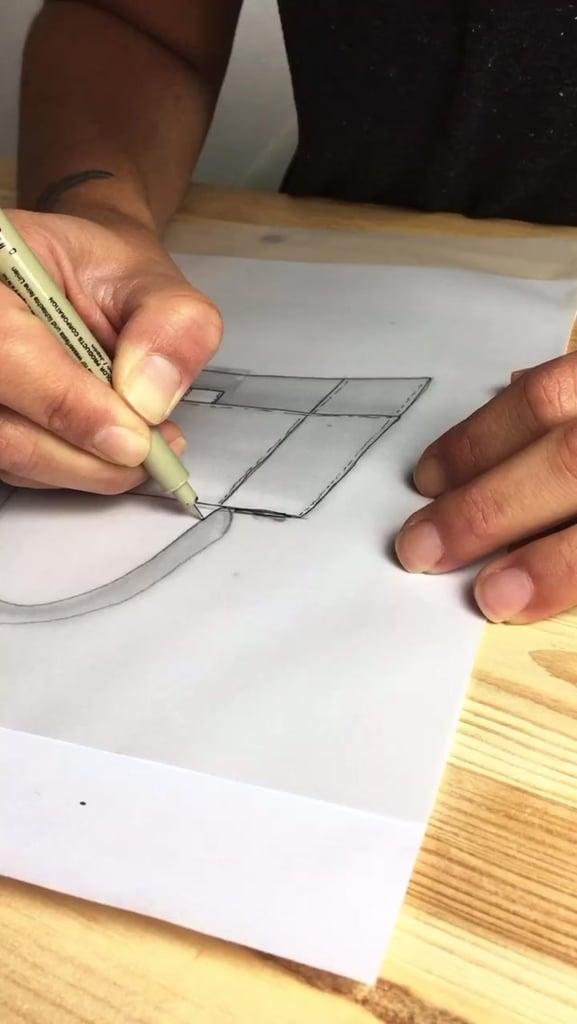 The Creation of the DHL Balenciaga Hourglass Bag