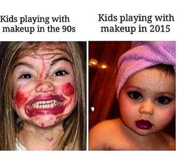Bad Makeup Meme Mugeek Vidalondon