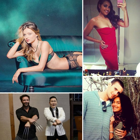 Celebrity Twitter and Instagram Pictures From Miranda Kerr, PSY, Megan Gale, Jessica Mauboy