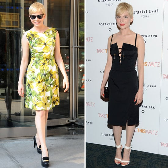 Michelle Williams Goes Sweet and Sexy in NYC — Which Look Do You Prefer?