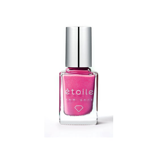 Hot pink is a Spring classic, and Étoile Pink Panache ($18) is a cheery bright pink that's infused with real diamond dust for a subtle touch of sparkle.