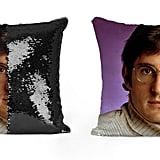 Louis Theroux Sequin Pillow