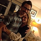 Julie Bowen and Tom Cavanagh had an Ed reunion. Source: Julie Bowen on WhoSay
