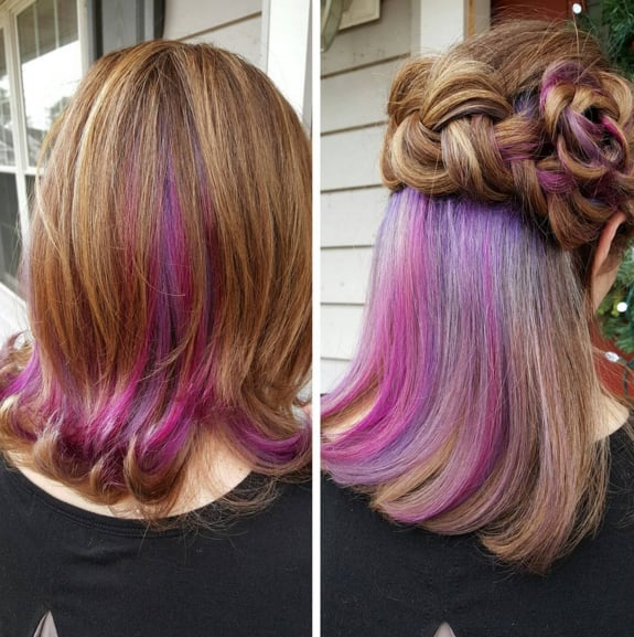 Underlights Hair Color Trend  POPSUGAR Beauty Photo 5