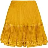 Chloé Organza Midi Skirt