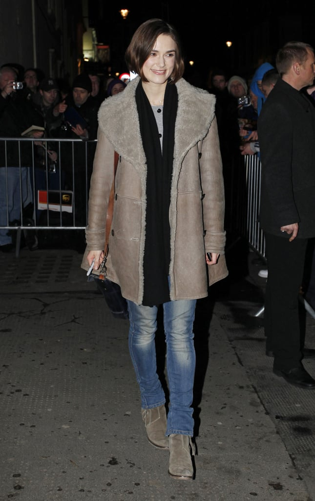 Pictures of Keira Knightley and Elisabeth Moss After Performing in The Children's Hour in London