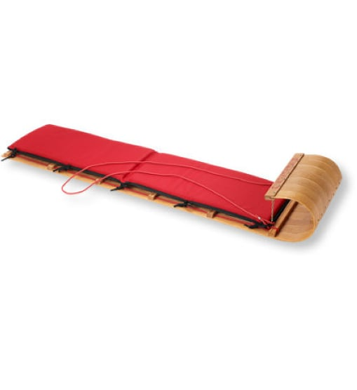 L.L.Bean Classic Toboggan & Cushion Set
