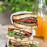 Mediterranean Vegan Sandwich