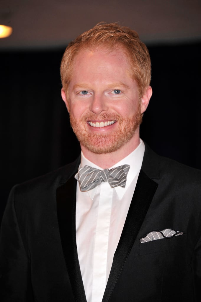 Jesse Tyler Ferguson looked handsome in a bow tie at the White House Correspondant's Dinner.