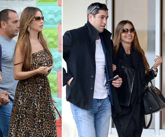 Sofia Vergara and Her Fiancé Make Up Following a Dramatic New Year's Eve