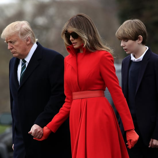 Melania and Barron Trump Will Move to Washington