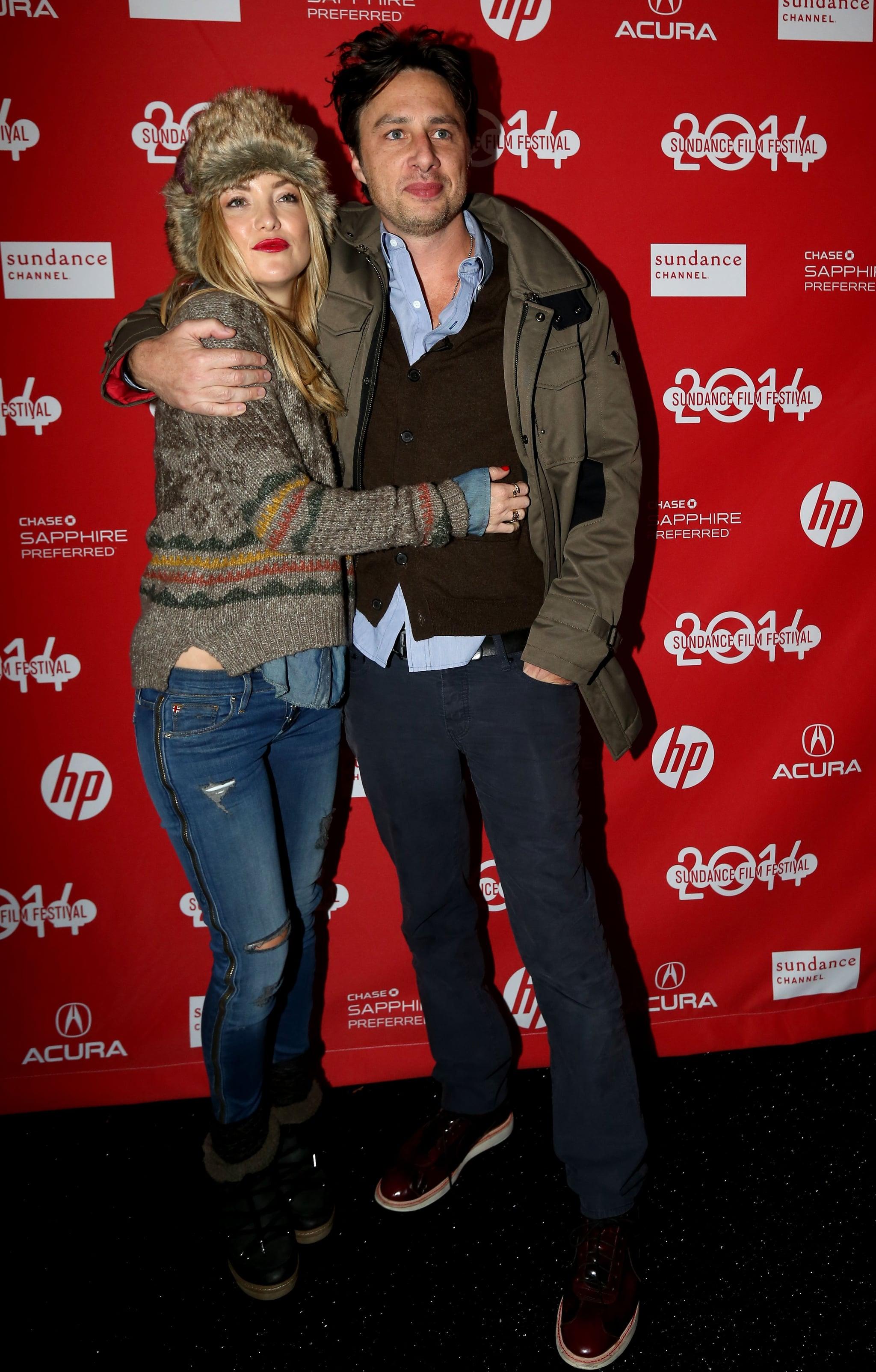 Zach Braff Kate Hudson