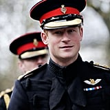 Photos of Prince Harry in Uniform