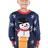 Snowman Ice Cream Cone Sweater
