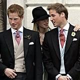 Zara, Harry, and William