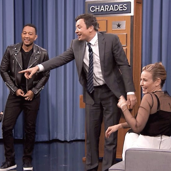 Chrissy Teigen and John Legend Charades Tonight Show 2016