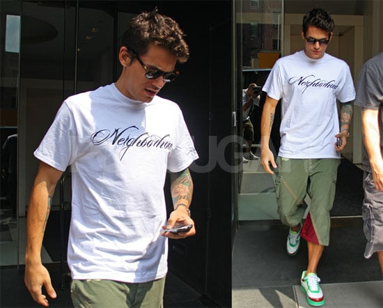 Photos of John Mayer As Woman Denies Claims He Recently Flirted With Her In Amsterdam