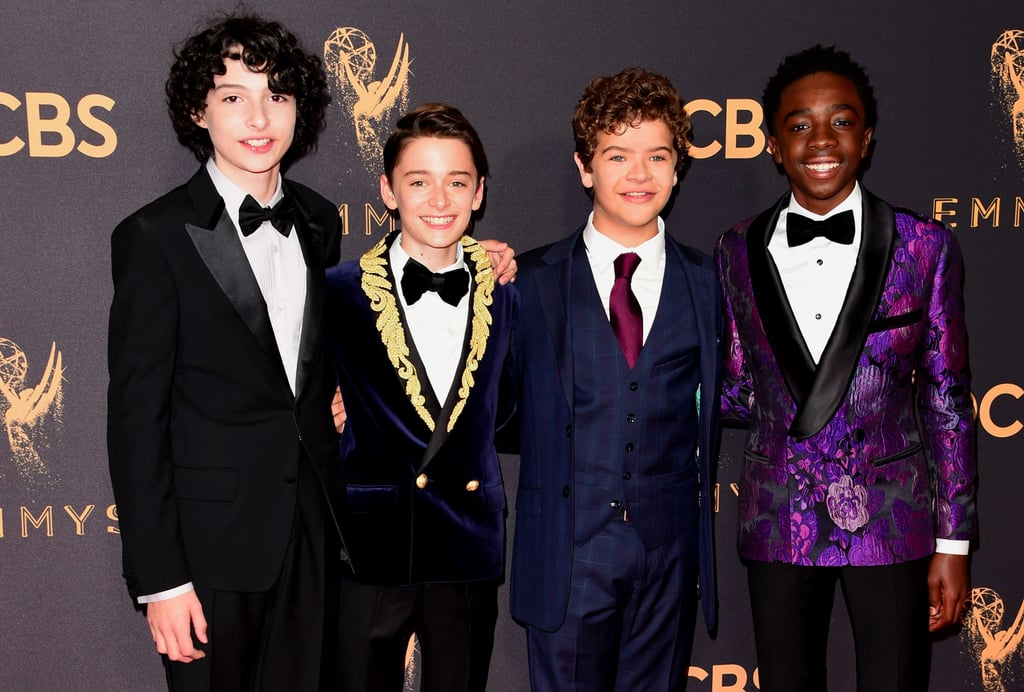 The Stranger Things Cast Brings the Cute Factor to the Emmys