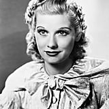 Lucille Ball With Blond Hair