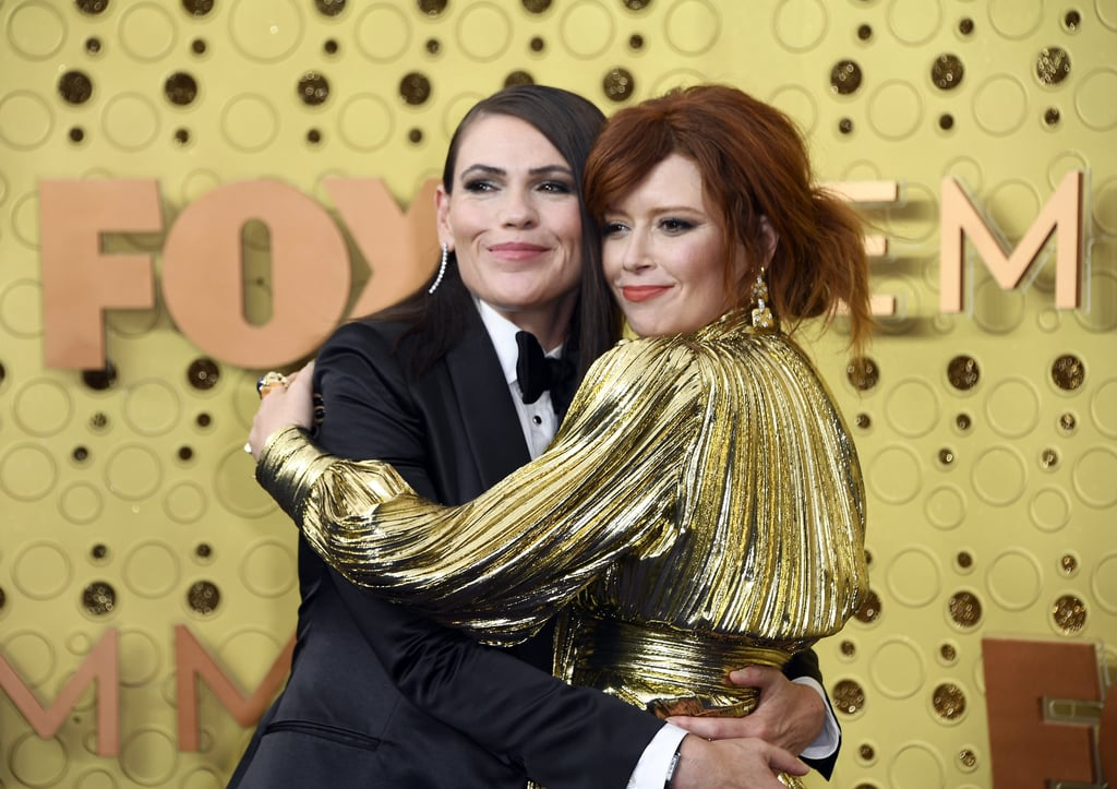 Clea DuVall and Natasha Lyonne at the 2019 Emmys