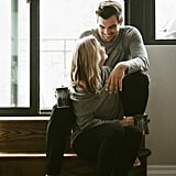 Cozy Apartment Engagement Photo Shoot