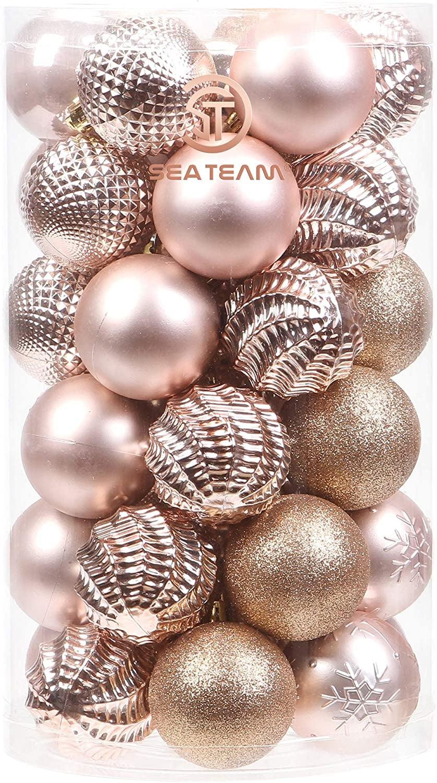 Rose Gold Ornaments Popsugar Home