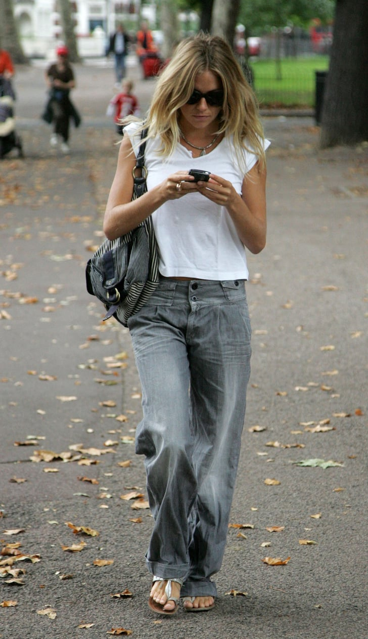 Sienna Miller 14 Style Icons Who Make Jeans And A White