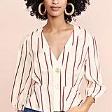J.O.A. Red Stripe Blouse