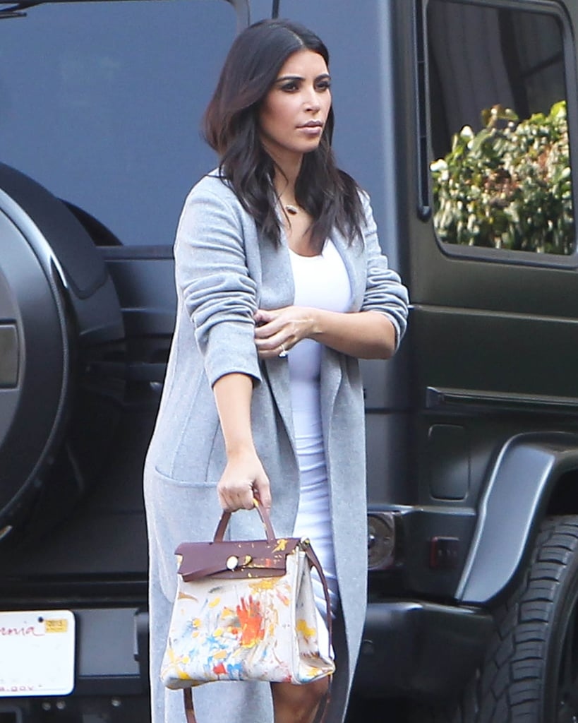 A Hand-Painted Hermès Bag
