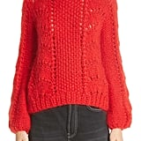 Ganni Mohair & Wool Sweater