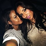Christina Milian snapped a pre-Christmas pic with her friend. Source: Instagram user christinamilian