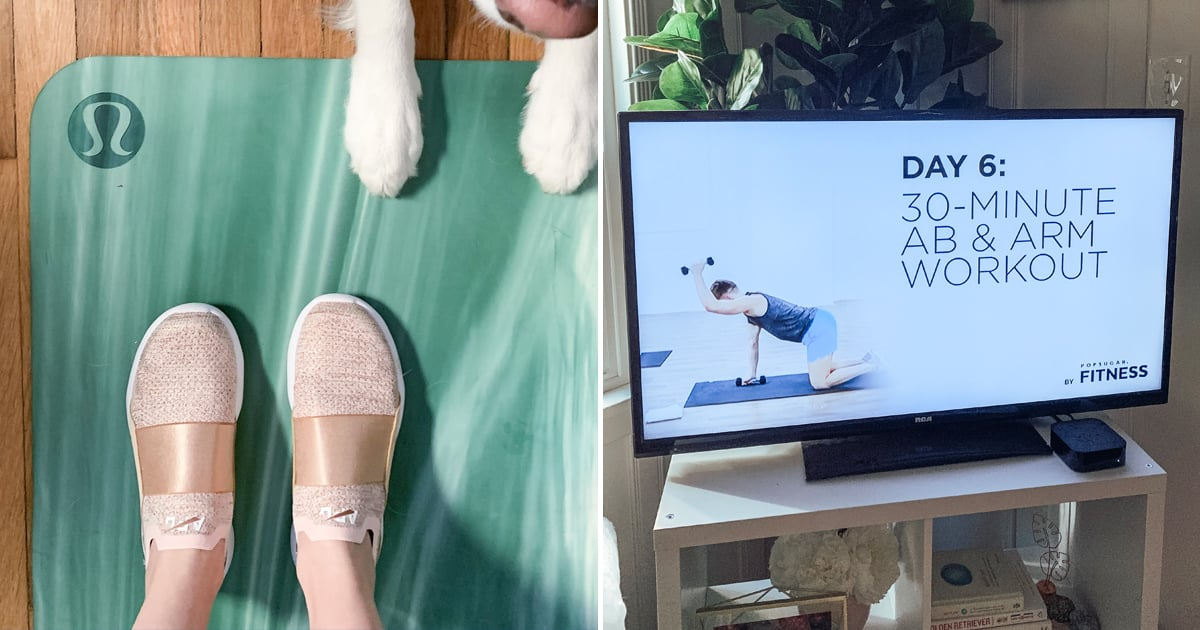 The 4-Week Home Workout Program That's Helping Me Start the New Year Right