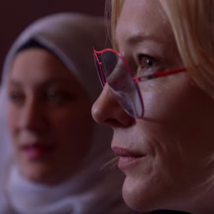 VIDEO: Cate Blanchett Meets Syrian Refugees on Jordan Trip