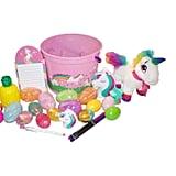 The Deluxe Unicorn Gift Set Basket