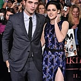 Robert and Kristen were surrounded by adoring fans.