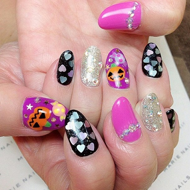 Halloween Nail Art: 101 Halloween Nail Art Designs That Are A Major Treat