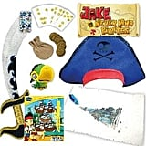 Jake and the Neverland Pirates Showbag ($10) Includes:  Toy sword set  Treasure map  Dominoes game