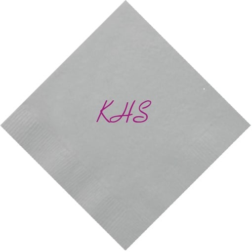 For Your Party Customized Cocktail Napkins