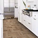 FloorPops Pickling Peel and Stick Floor Tiles