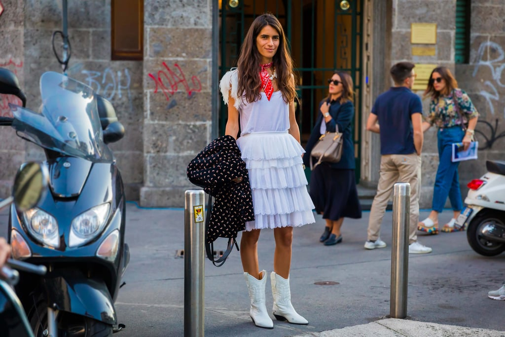 Milan Fashion Week Street Style Spring 2018
