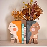 Jungalow Face Bookend Vase by Justina Blakeney