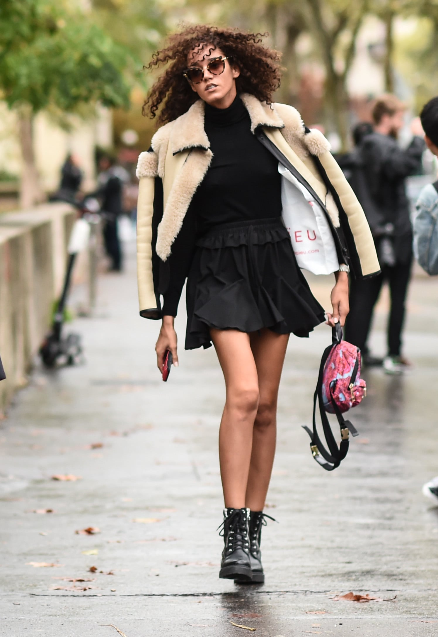 How to Style Chunky Lace Up Ankle Boots