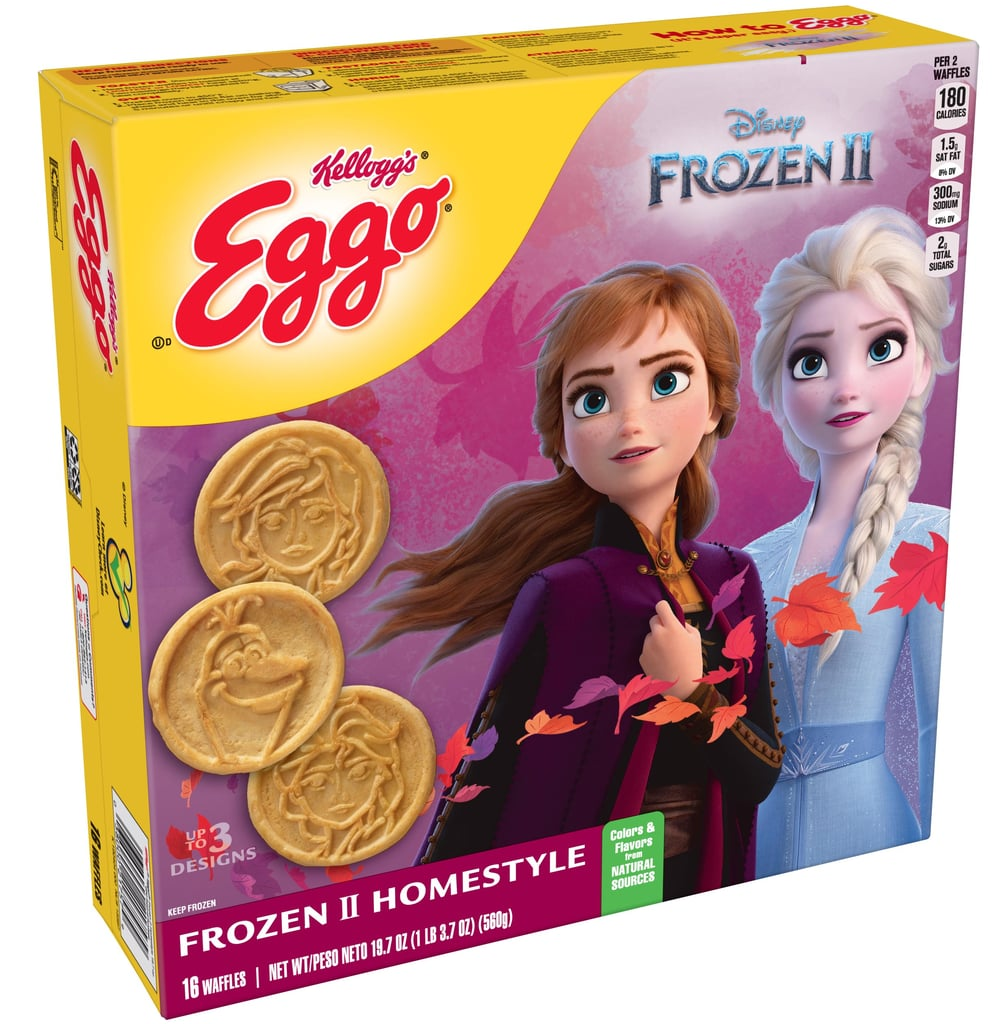 Disney's Frozen 2 Eggo Waffles Feature Anna, Elsa, and Olaf