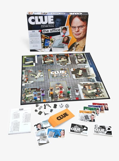 The Office Dunder Mifflin Clue Game Board at Hot Topic